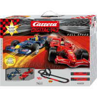 ماشین کنترلی carrera 1/43 digital full speed