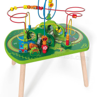 JUNGLE PLAY & TRAIN ACTIVITY TABLE hape